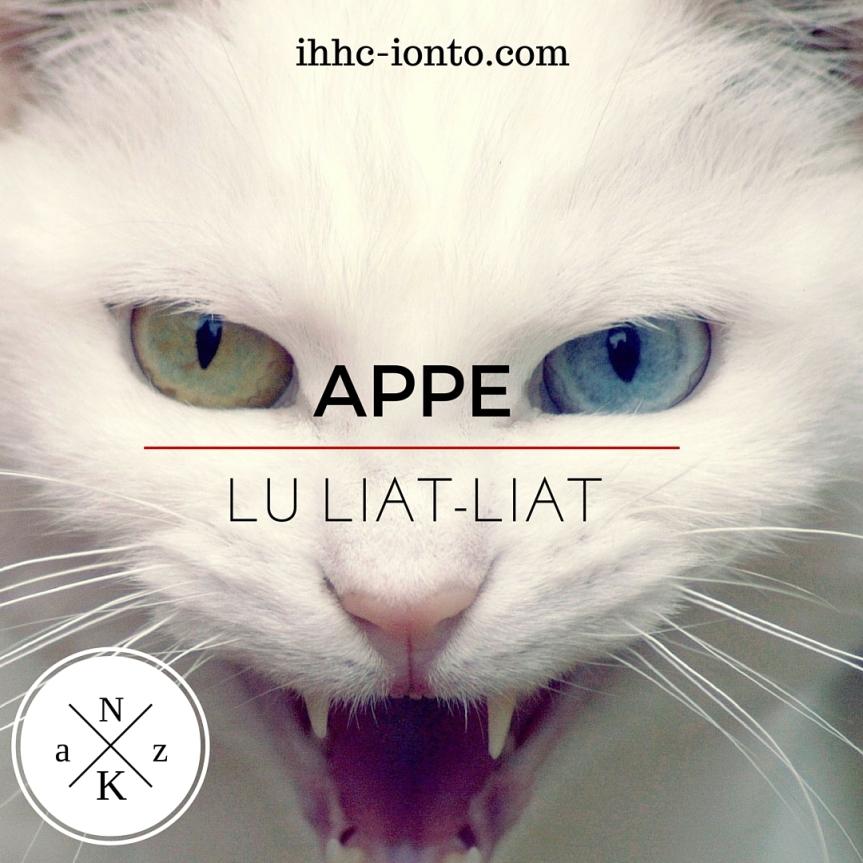 Action Hiperhidrosis 2016: Appe LuLiat-Liat?